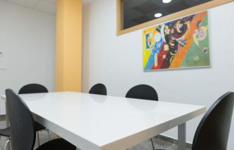 sala de reuniones centro de negocios zona sur alicante